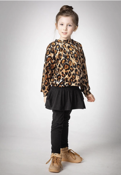 Girls Cheetah Bowie Sweatshirt