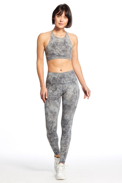 Ella Legging / Night Sky Marble - T. Georgiano's