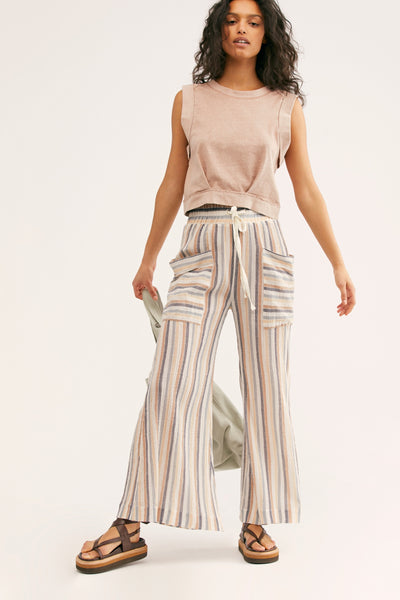 Jones Beach Wide Leg Pant - T. Georgiano's