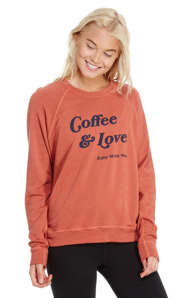 good hYOUman Smith Retro Fit Crew Pullover - Coffee and Love (Oct. 2017)