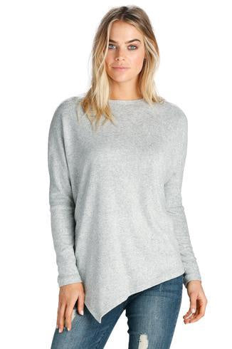 SF1447 Asymmetrical Sweater - T. Georgiano's