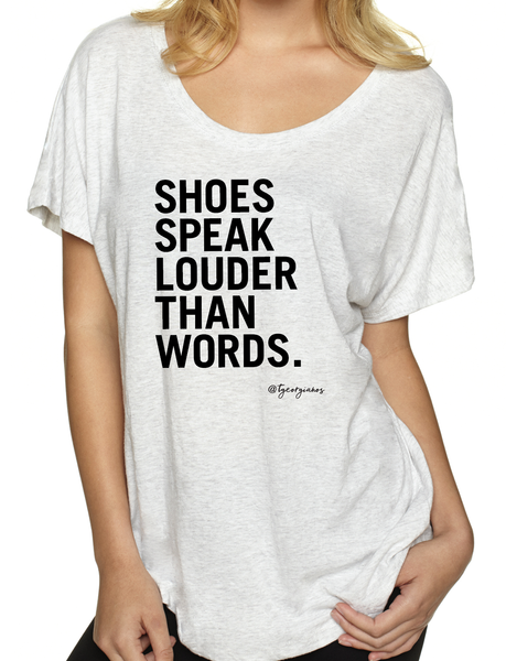 Shoes Speak Louder Than Words - T. Georgiano's