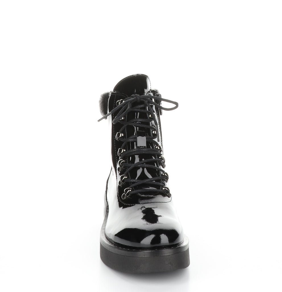 Flair Combat Boot - T. Georgiano's