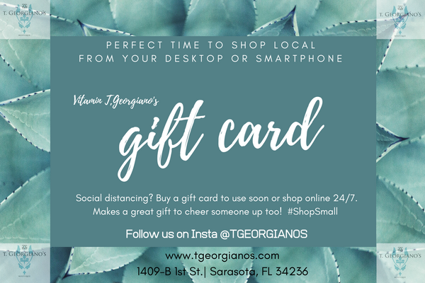 Gift Cards Are a GREAT IDEA! - T. Georgiano's