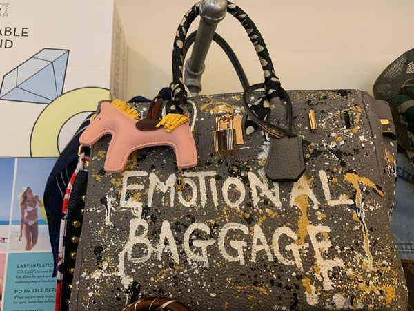 Bianca 30'cm Grey Emotional Baggage- Artist Series - T. Georgiano's
