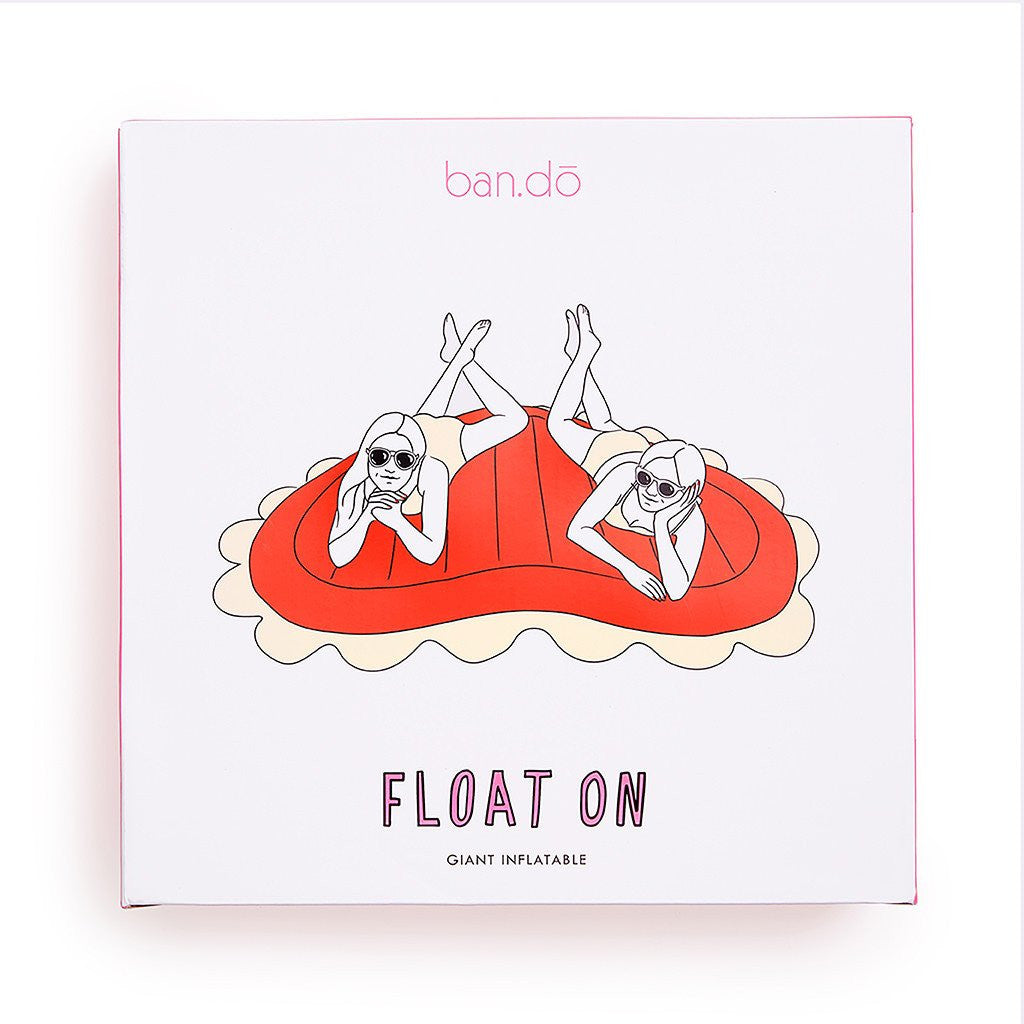 BAN.DO Float on Giant Inflatable