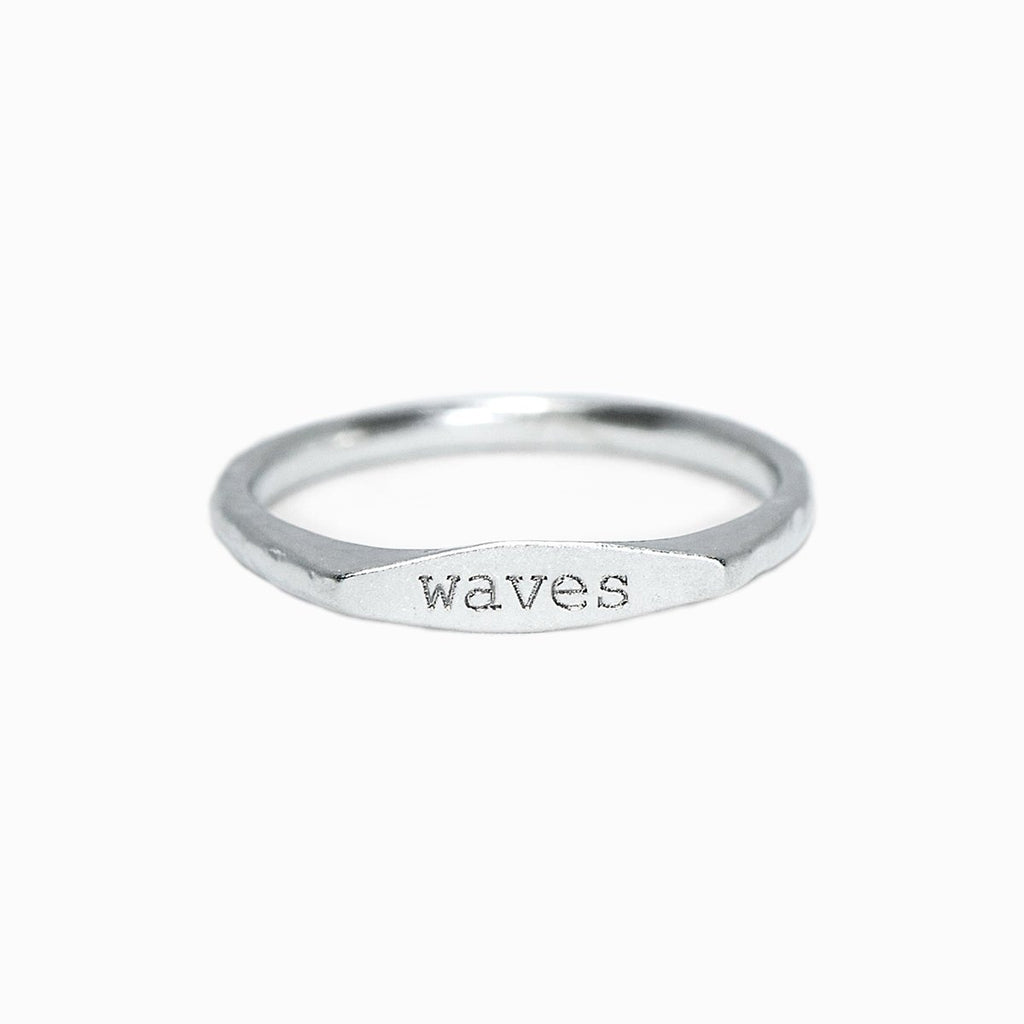 Waves Vibes Stacking Ring