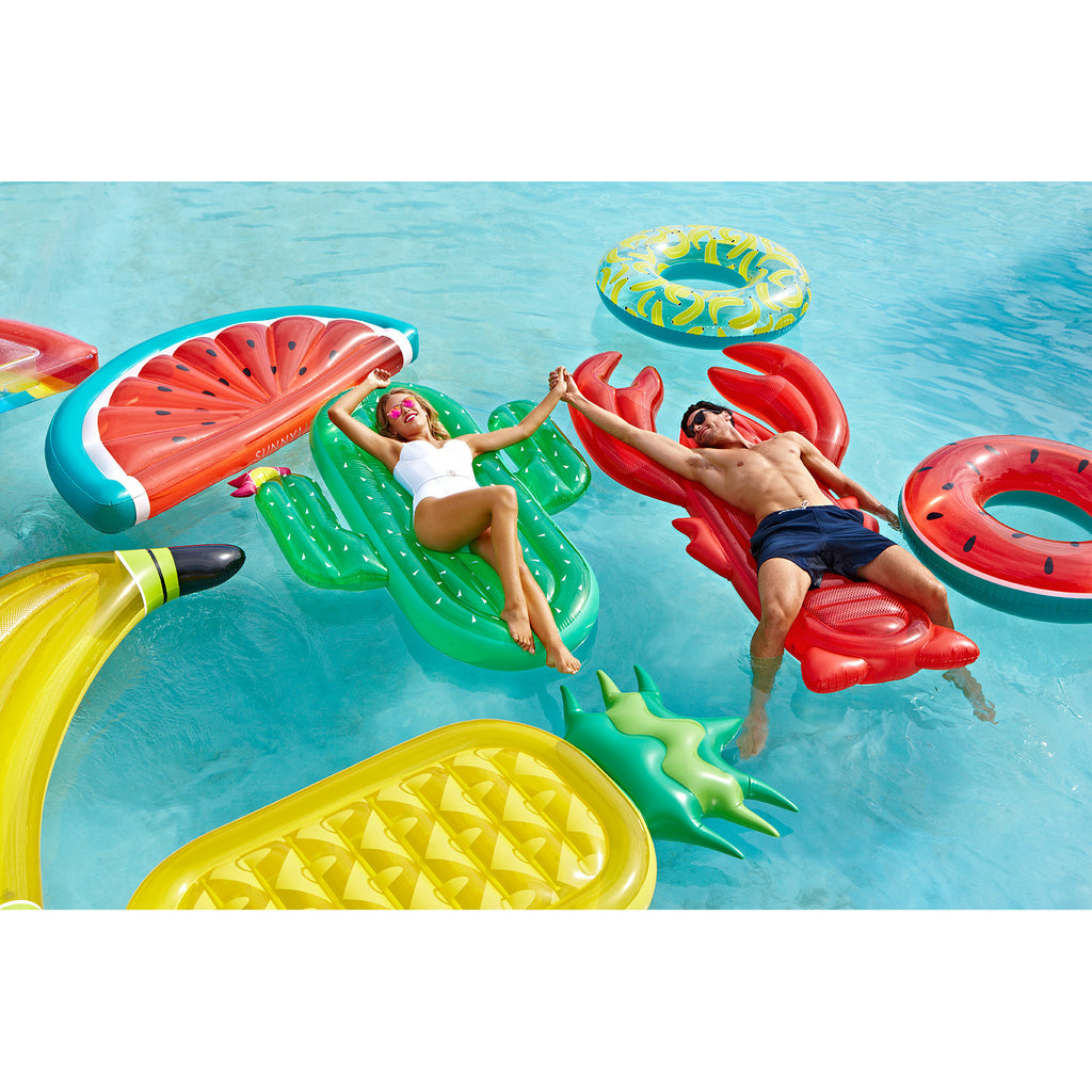 SUNNYLIFE Luxe Lie On Float Lobster