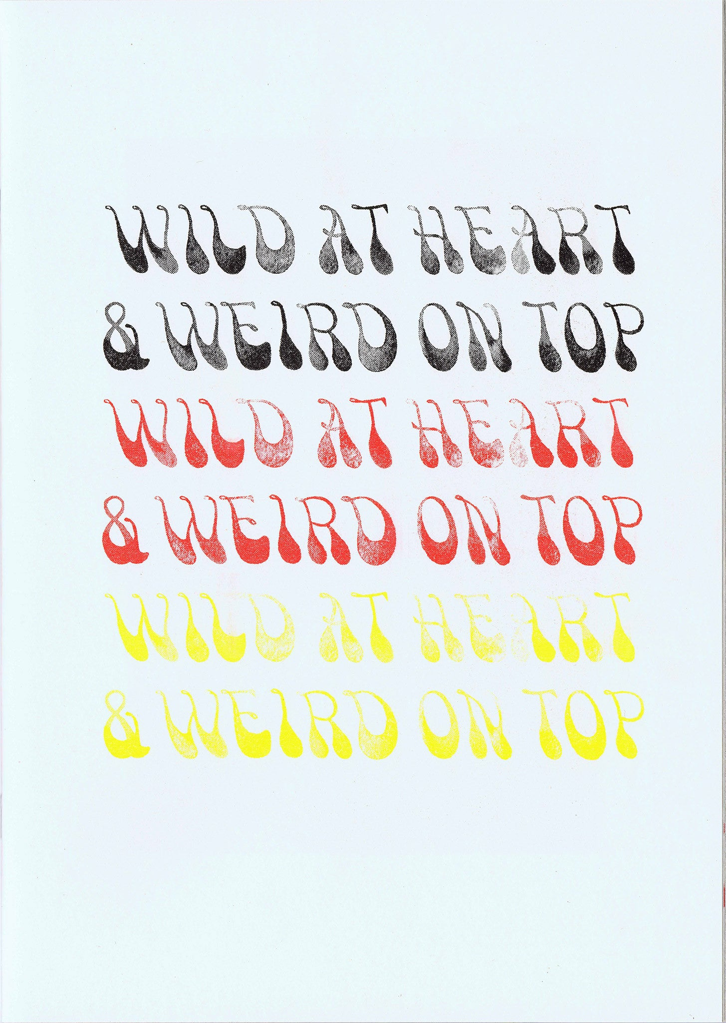 LELE SAVERI AND OTHELO GERVACIO. Wild at Heart & Weird on Top.