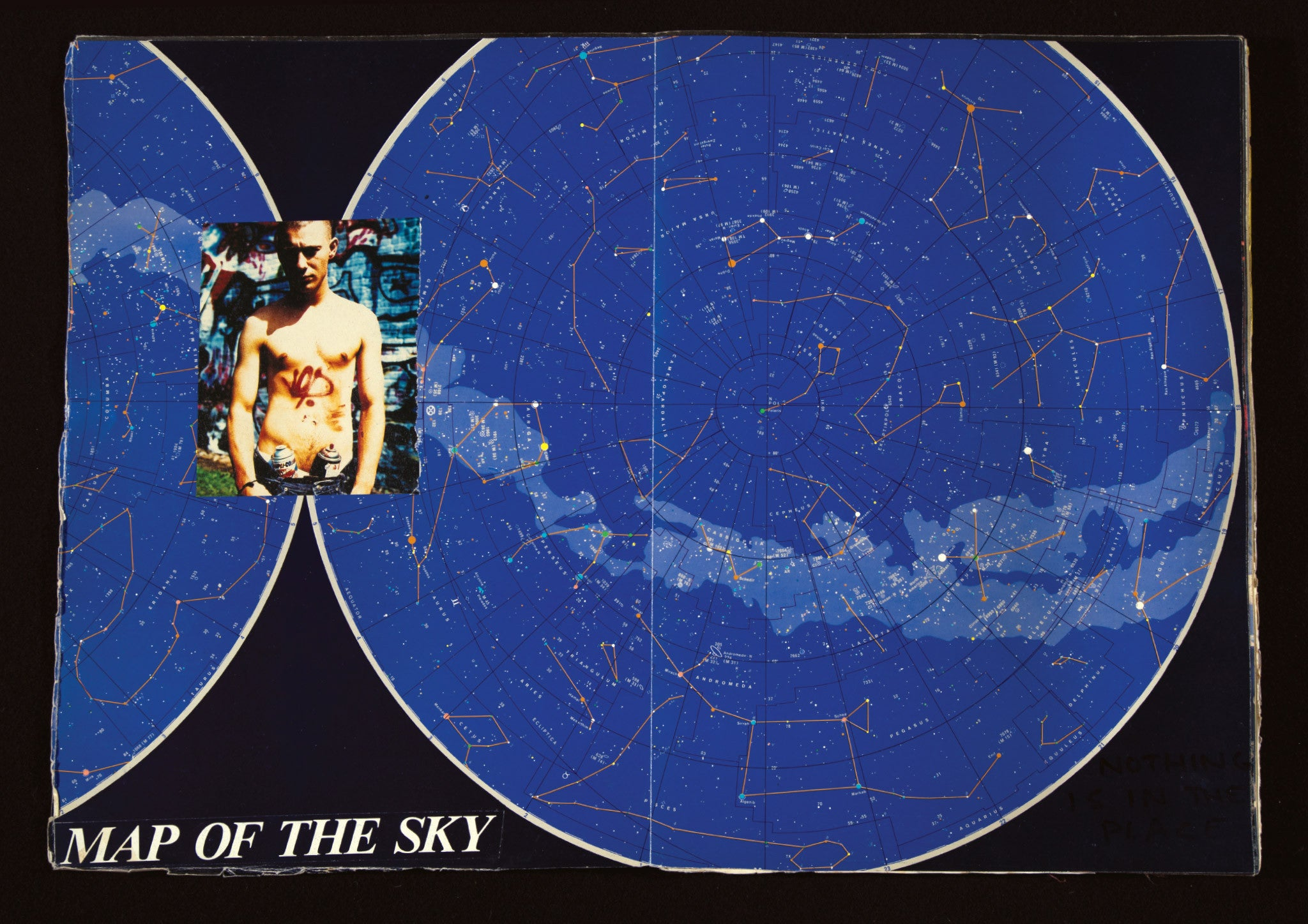JASON EVANS. MAP OF THE SKY.