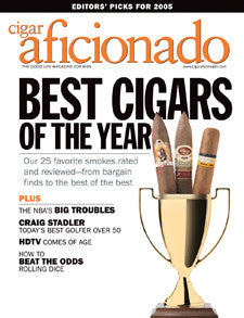 Cigar Aficionado Magazine Feb 05