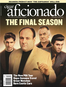 Cigar Aficionado Magazine Apr 07