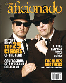 Cigar Aficionado Magazine Feb 08