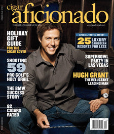 Cigar Aficionado Magazine Dec 09