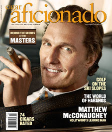 Cigar Aficionado Magazine Apr 11