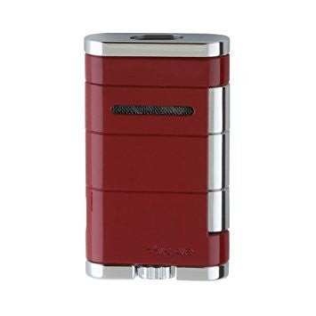 Xikar Allume Double Lighter Red