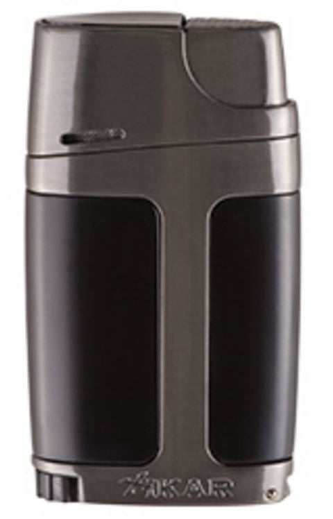 Xikar ELX Double Lighter - Charcoal