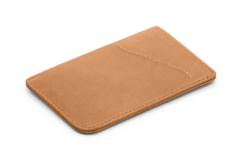 Bellroy Card Sleeve- Tan