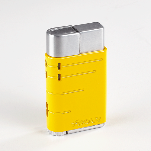 Xikar Linea Lighter - Electric Yellow