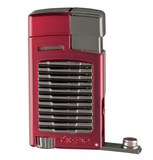 Xikar Forte Lighter - Red w/ G2 Trim