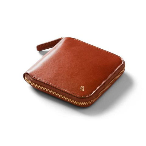Bellroy Designer's Edition Zip Wallet Burnt Sienna