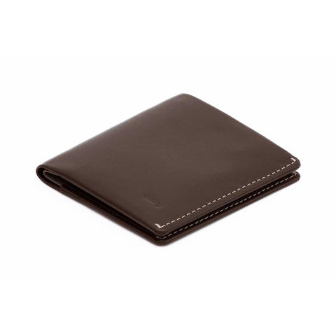Bellroy Note Sleeve Java - Premium Leather Wallet with RFID