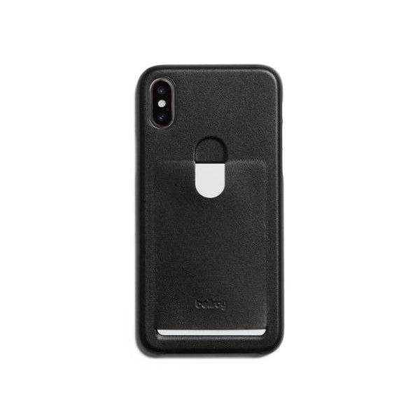 Bellroy Phone Case - iPhone X 1 Card Black