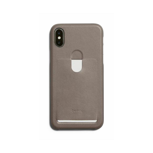 Bellroy Phone Case - iPhone X 1 Card Stone
