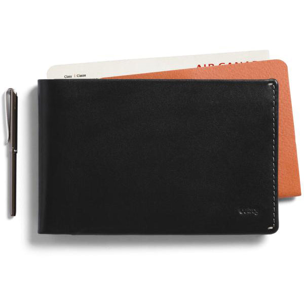 top-rated professional buy online outlet sale Bellroy Travel Wallet Black- Premium Leather Wallet with RFID