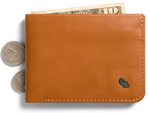 Bellroy Hide and Seek Caramel - Premium Leather Wallet with RFID