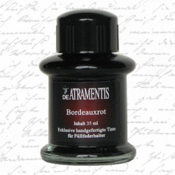 DE Artramentis Bordeaux Red Ink bottle