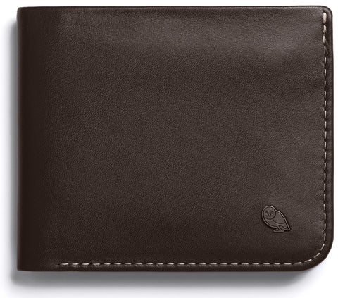 Bellroy Hide and Seek Java - Premium Leather Wallet with RFID