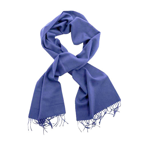 Dandy Tailoring Cashmere Scarf Blue