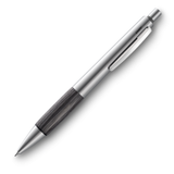 Lamy Accent Al Mechanical pencil Brushed Stainless With Fine Wood Grip