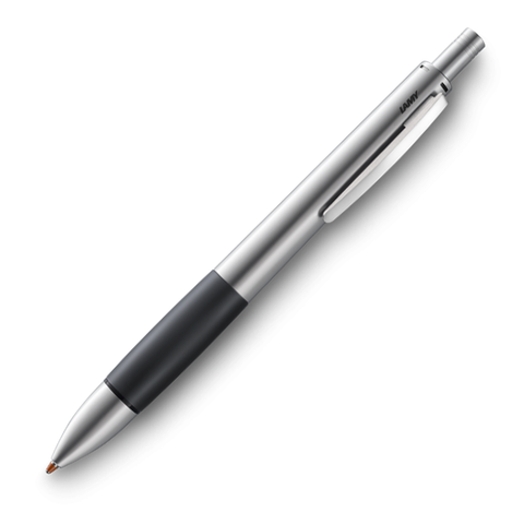 Lamy Accent Al Multi Pen Brushed Stainless Steel With Black Grip