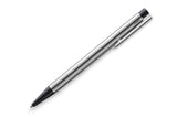 Lamy Logo Ballpoint Pen Stainless Steel & Black