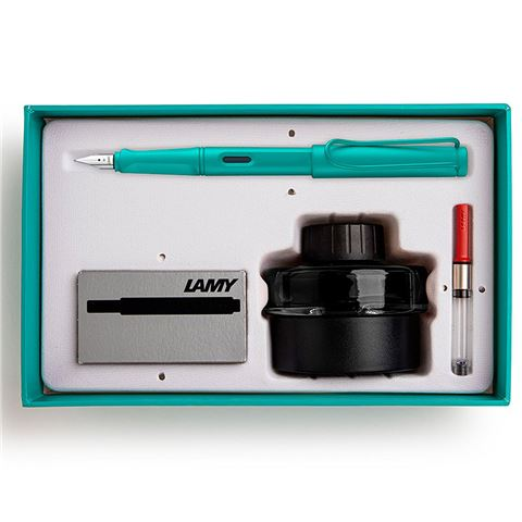 Lamy Al-Star Gift Pack Fountain Pen Medium Turmaline