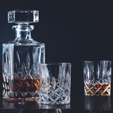 Nachtmann Highlander Whiskey 5 Piece Decanter set