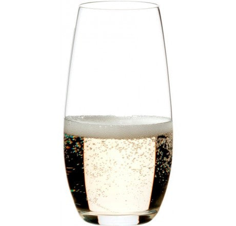 Riedel O' Series Stemless Wine Glasses - Champagne