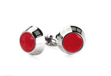 Montegrappa Miya Cufflinks Red