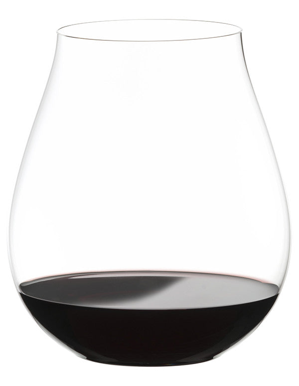 Riedel Big O Stemless Wine Glasses - Pinot Noir (2 Pack)