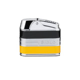 Siglo Retro II Lighter - Black & Yellow