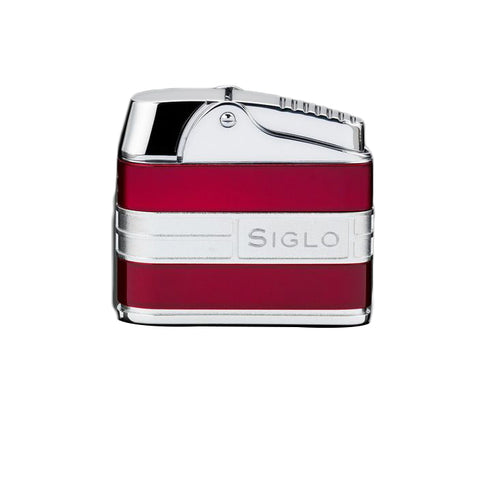 Siglo Retro II Lighter - Metalic Red