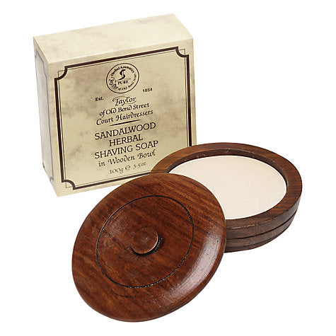 Taylor Sandalwood Shaving Soap/Bowl 100g