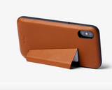 Bellroy Iphone XS Case -3 Card Caramel