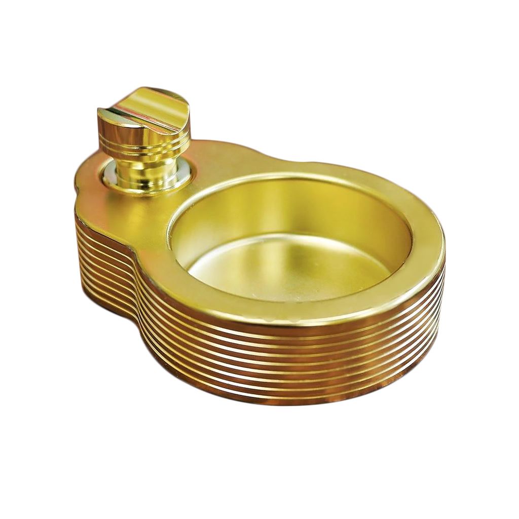 Solo Ashtray Gold + Cigar Rest