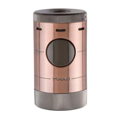 XIKAR Volta Quad Vintage Bronze Tabletop Lighter