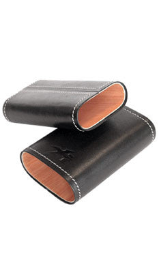 Envoy 3 cigar case black