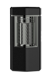 Xikar Meridian Matte Black & Gunmetal Soft Flame Lighter