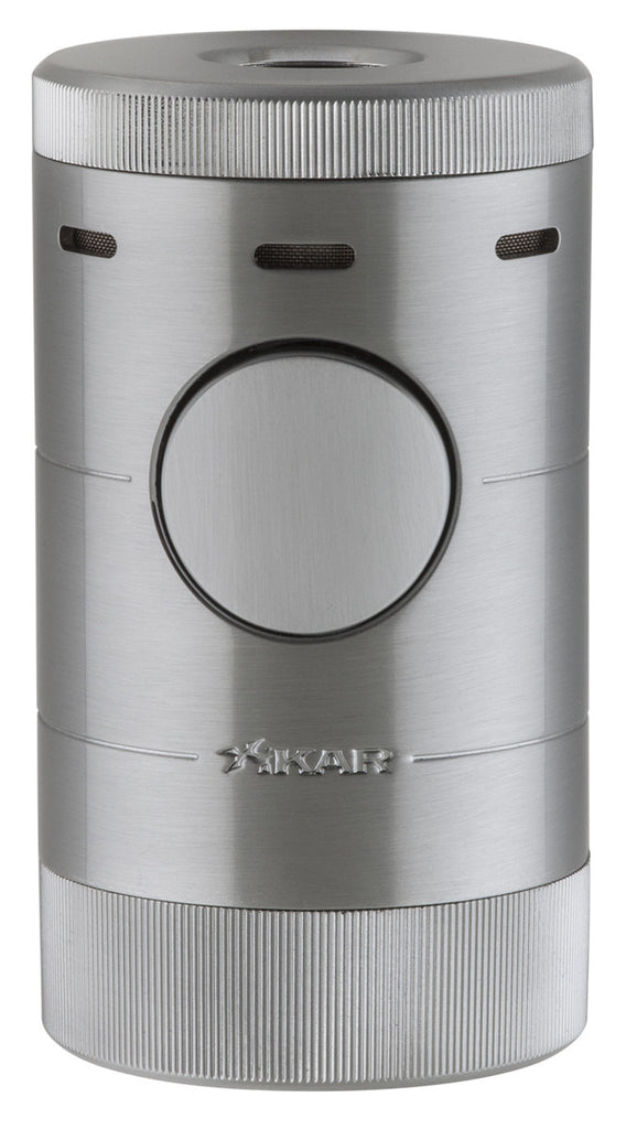 Xikar Volta Quad Tabletop Lighter Silver